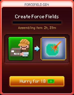Force Fields start