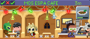 Decorated Mos Espa Cafe