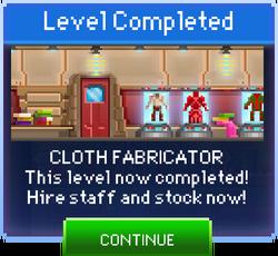 Message Cloth Fabricator Complete
