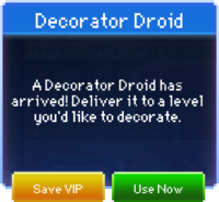 Message Decorator Droid