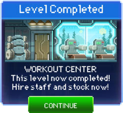 Message Workout Center Complete