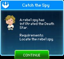 Message Catch Spy Luke Skywalker