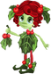 Teen Holly Dryad