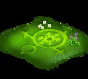 Decoration 2x2 crop circle ice tn@2x