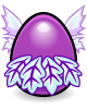 Tinsel Egg