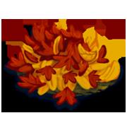 Decoration 1x1 fall leafpile tn@2x