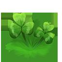 Decoration 1x1 three leaf clover@2x