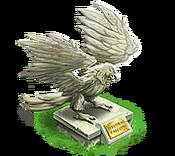 Decoration 2x2 spectral falcon statue tn@2x