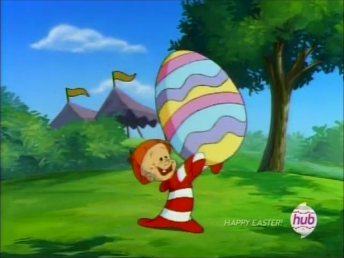 File:Dead End Kid with an Easter Egg.png
