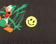 Plucky Falling Smiling Face