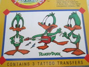 Plucky Tattoo