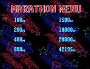 Marathon Menu