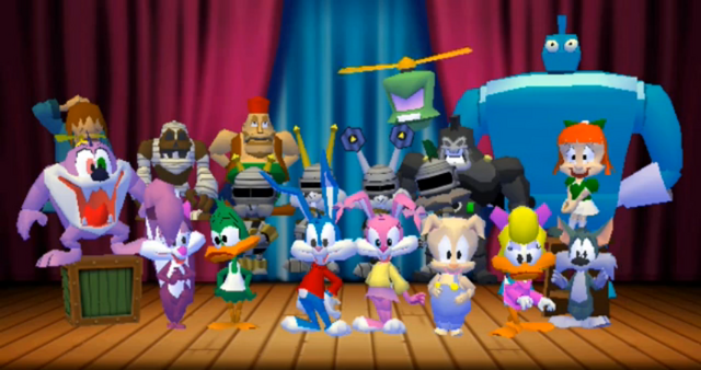 File:The cast of Tiny Toon Adventures - Defenders of the Universe.png