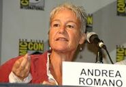 Andrea Romano at Comic Con