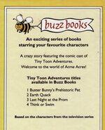 Back cover tta buzz book