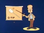 Q-tip guy