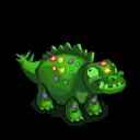 Decoration stegosaurus topiary@2x