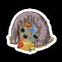 Sticker cavepainting@2x