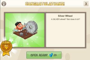 Playground 4 silver wheel