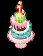 Decoration tinyvillagebirthdaycake v3@2x