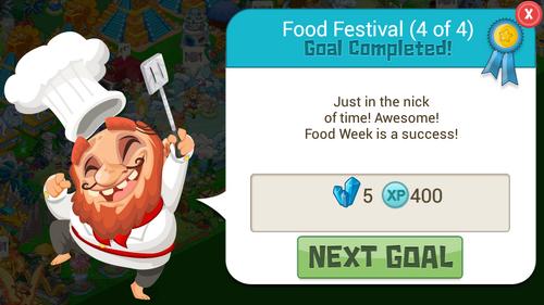 FoodWeek 5CrystalReward