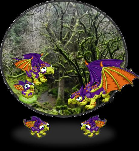 SpookySkyDragon Diorama1