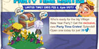 Party Time Crates