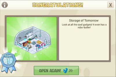 Storage of tomorrow