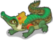 Crocodile of sobek single