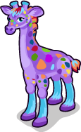 Rainbow Giraffe single