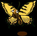 Tiger Swallowtail Butterfly single