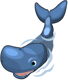 Sperm whale static