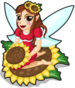 Sunflower fairy single