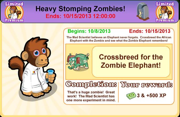 Goal zombie modal8