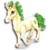 Goal bucks unicorn icon