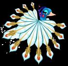 Queen hera peacock an