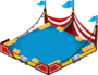 Circus Tent Red