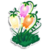 Goal fairy bell flowers icon