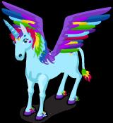 Rainbow Pegacorn single