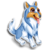 Goal blue collie icon