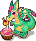 Birthday wish dragon single