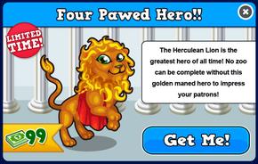 Herculean lion modal