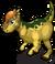 Pachycephalosaurus single