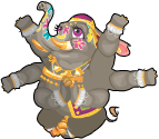 Royal indian elephant an