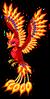 Flame phoenix single
