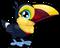 Cubby toucan common single