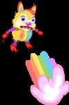 Rainbow sprite an