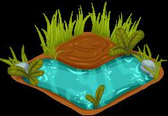 Cubby hippo habitat