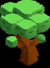 Green Blossom Tree
