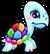 Cubby Turtle Rainbow single
